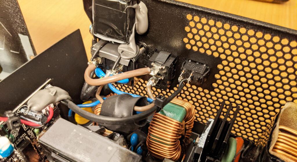 FSP Hydro G Pro 750W PSU Power Hookup