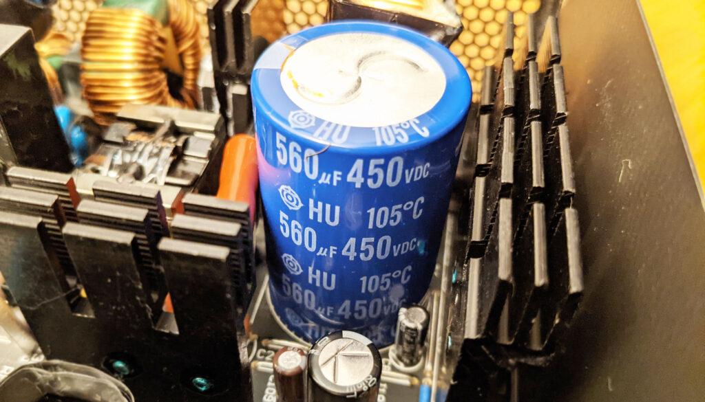 FSP Hydro G Pro 750W PSU Filter CAP