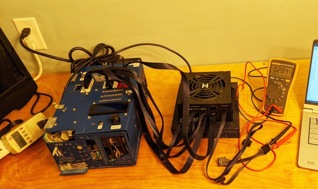 FSP Hydro G Pro 750W PSU Test 1