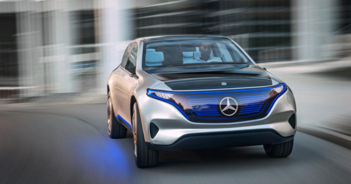 Mercedes Benz U.S. International electric vehicle