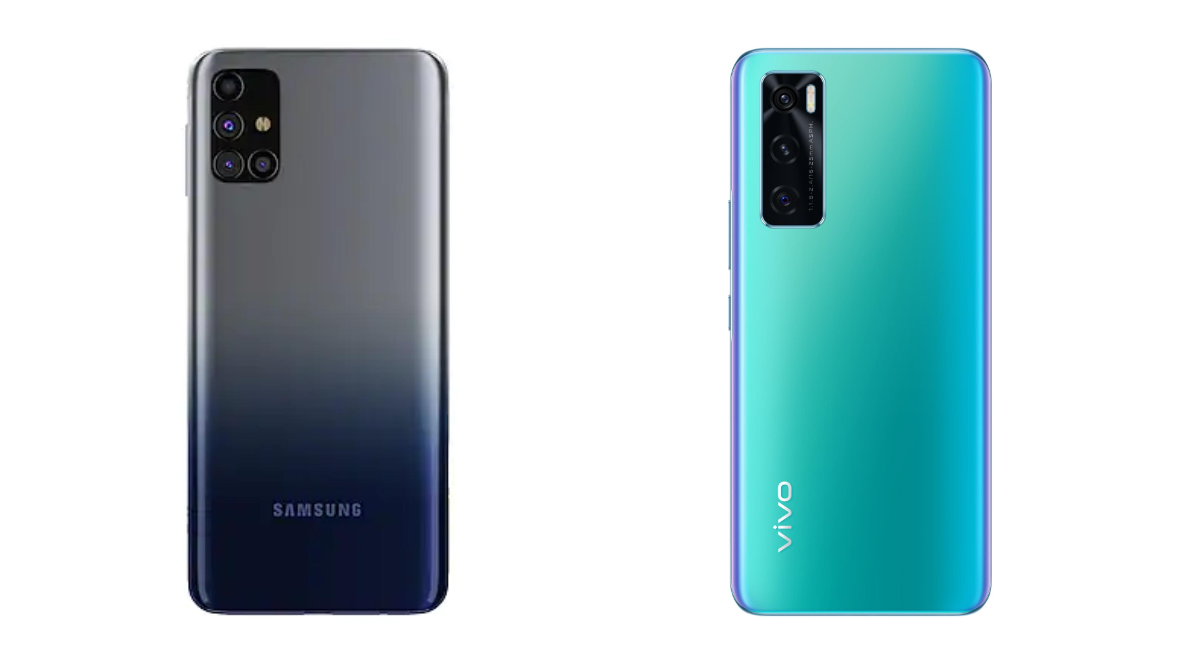 Samsung Galaxy M31s vivo V20 SE