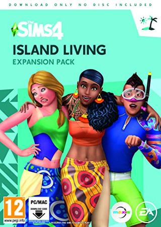 The Sims 4: Island Living (Origin code)