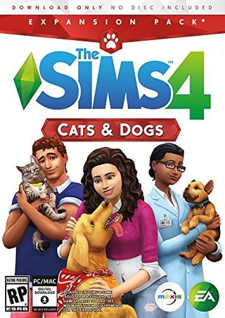 The Sims 4: Cats & Dogs (Origin code)
