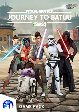 The Sims 4 Star Wars: Journey to Batuu (Origin code)