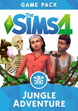 The Sims 4: Jungle Adventure (Origin code)