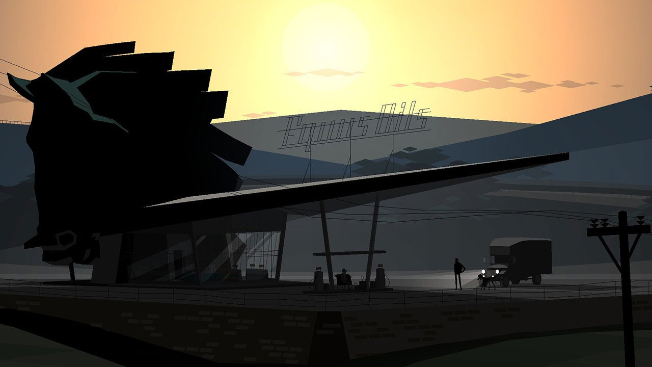 Kentucky Route Zero gas station