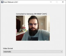 Iriun Windows software - News 21 02 Android Webcam App Test review