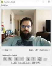 DroidCam Windows software - News 21 02 Android Webcam App Test review