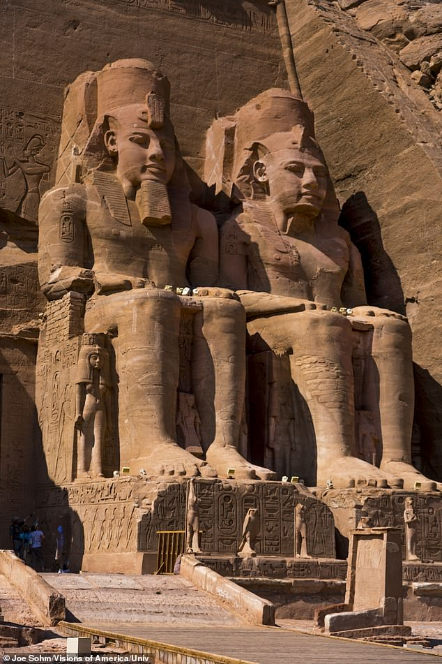 King Ramesses II, also known as Ramses the Great, was the most powerful and celebrated ruler of ancient Egypt.He is remembered principally for the colossal statues he commissioned and for his massive building program (pictured)