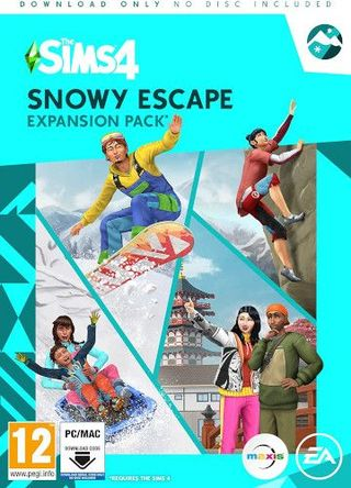 The Sims 4: Snowy Escape (Origin code)