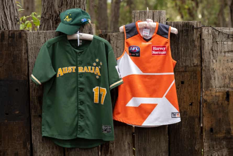 Two of Jacinda's uniforms