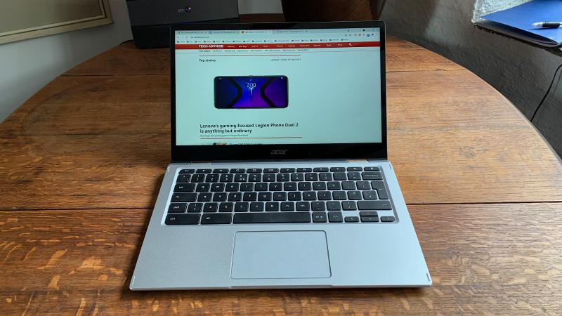 Acer Spin 513 Chromebook Review: Display