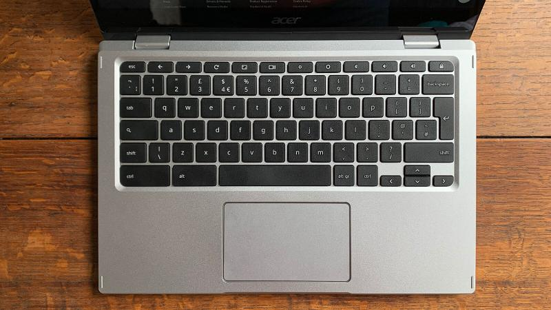 Acer Spin 513 Chromebook review: Keyboard