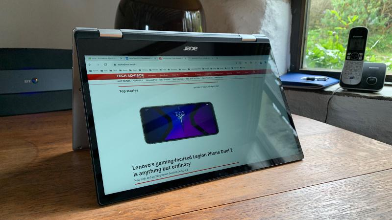 Acer Spin 513 Chromebook review: Software