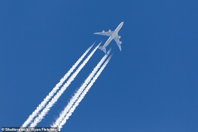 Global air travel accounts for around two per cent of all human CO2 emissions but these figures pale in comparison to the impact of contrails. contrails are twice as bad for the planet as planes' carbon emissions, accounting for around 60% of aviation's total climate impact