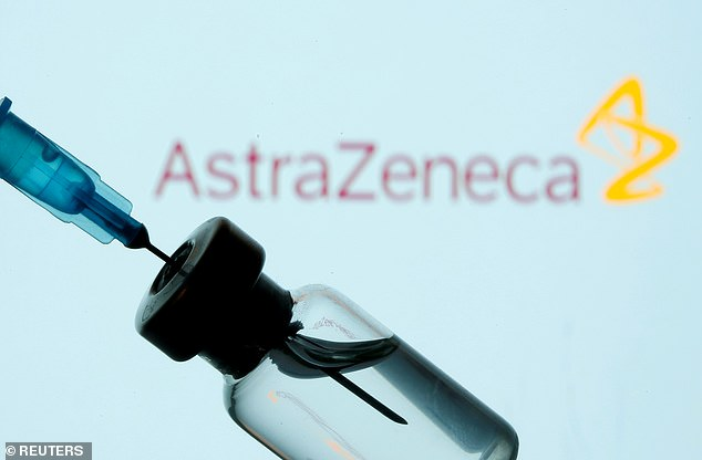 The EU is unlikely to order any more doses of AstraZeneca or Johnson & Johnson Covid vaccines after blood clots were listed as a very rare side effect of both jabs (file image)