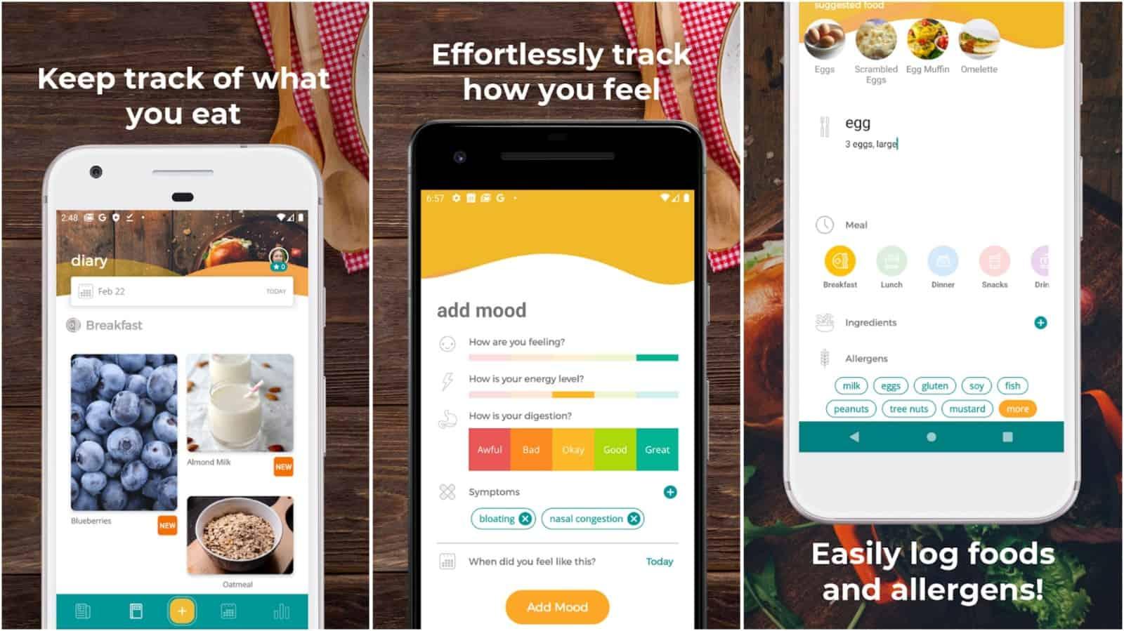 MoodBites app grid image