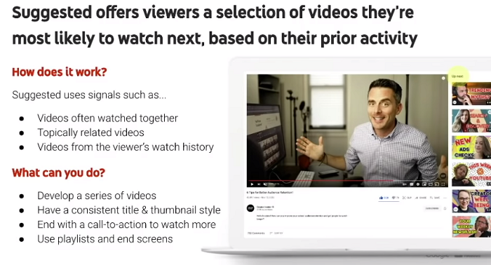 YouTube video recommendations guide
