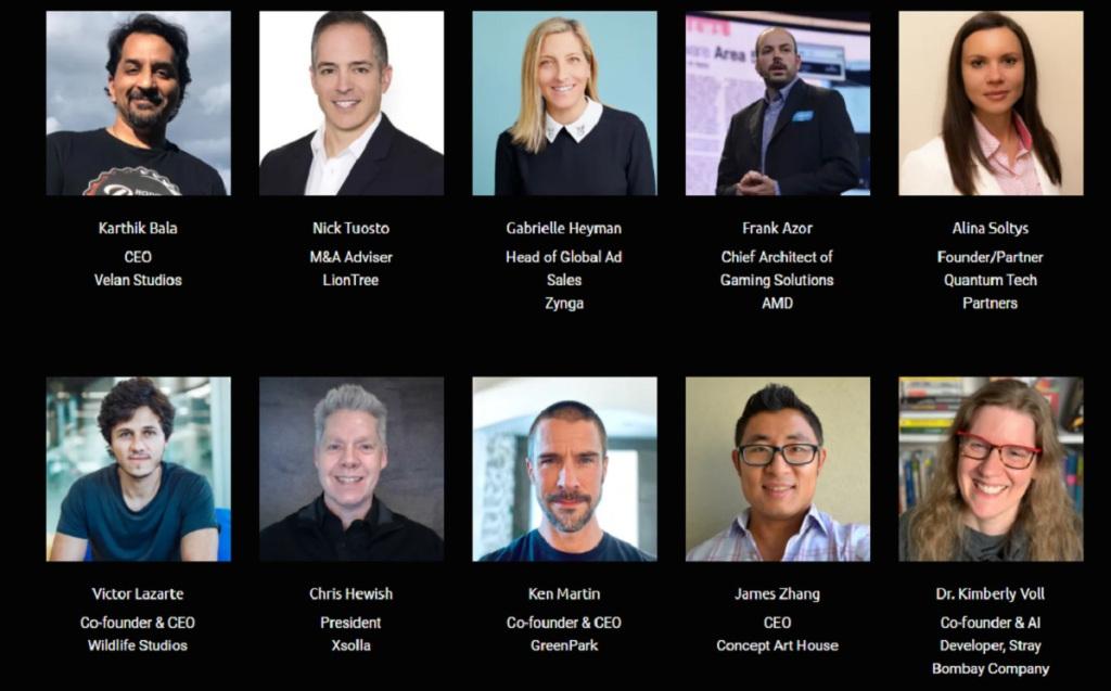 GamesBeat Summit 2021's roster.