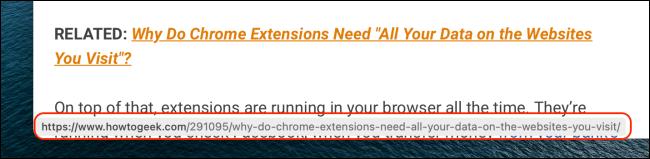 Preview URL in Safari for Mac