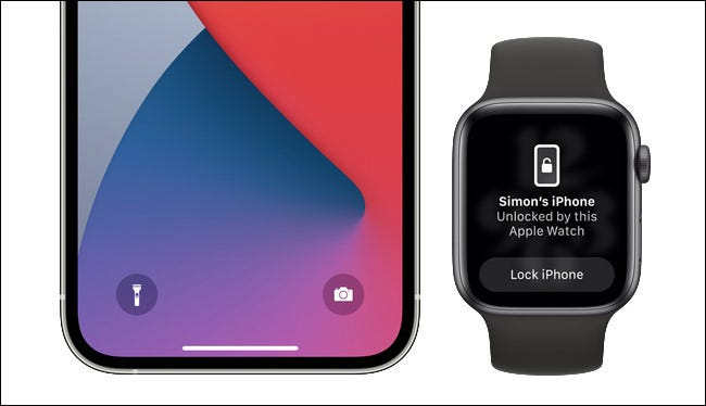 Unlock your iPhone using FaceID and an Apple Watch