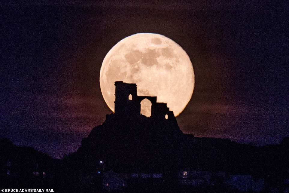 The moon will appear 30 per cent brighter and 14 per cent larger than usual tonight as our lunar satellite reaches the closest point to Earth in its orbit around the planet.