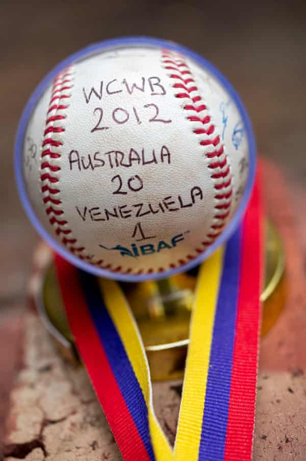 Barclay's baseball from the 2012 World Cup
