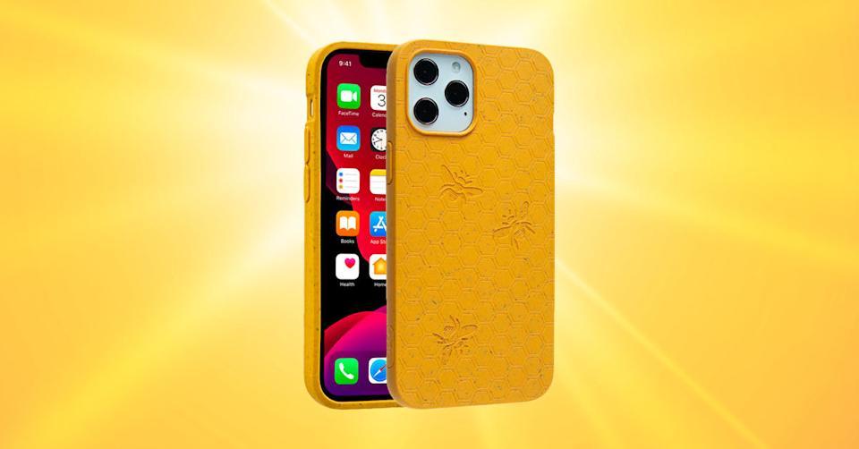 Pela Honey (Bee Edition) Eco-Friendly Case for iPhone 12 Pro Max (Photo: Verizon Wireless/Getty)