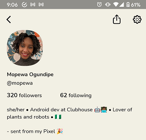 Clubhouse Android app