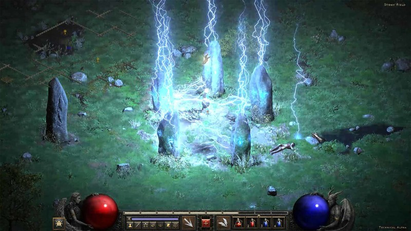 Diablo 2 Resurrected Tech Alpha Cairn Stones