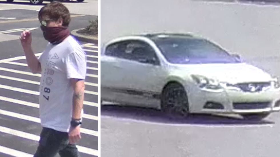 Deputies believe this man poses as a Walmart employee to steal products from the retail giant....