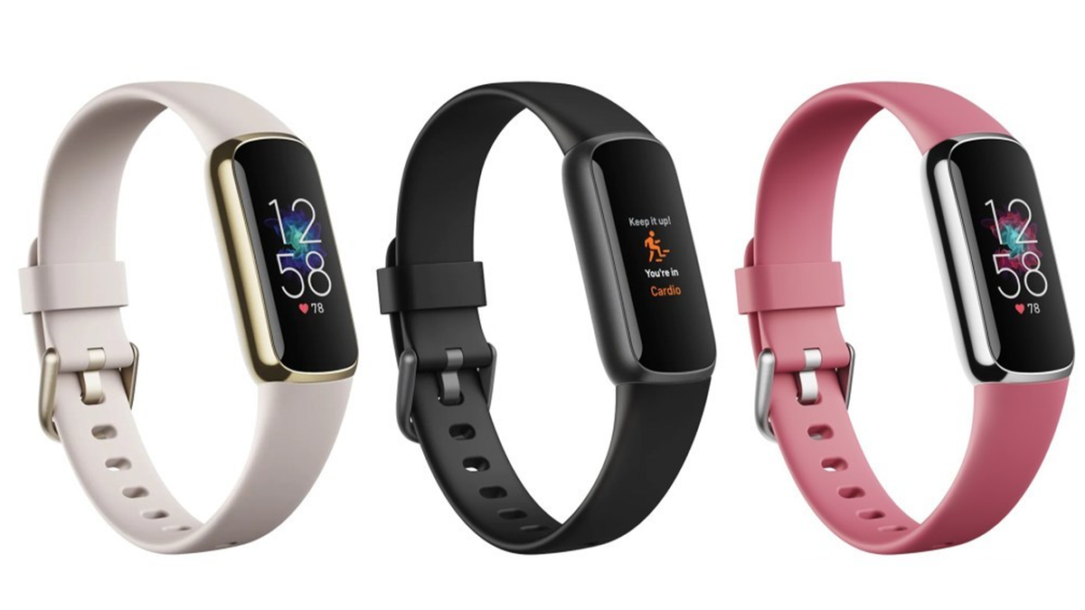 The upcoming Fitbit Luxe fitness tracker.