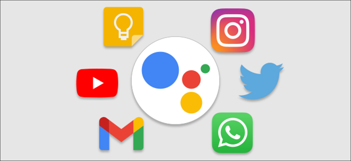 google assistant app shortcuts