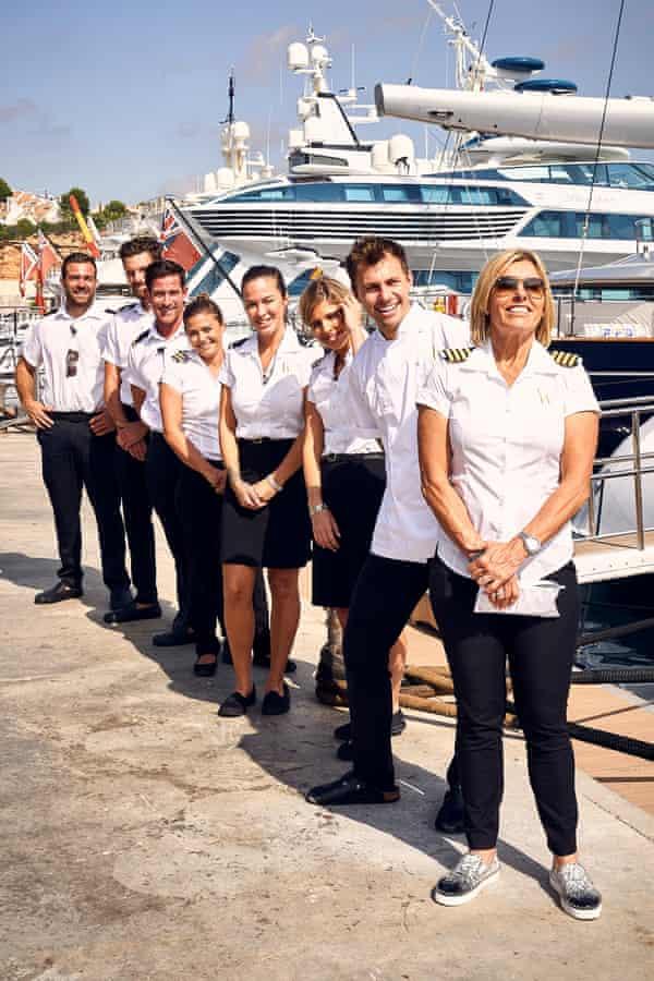 Cast from Below Deck: Mediterranean