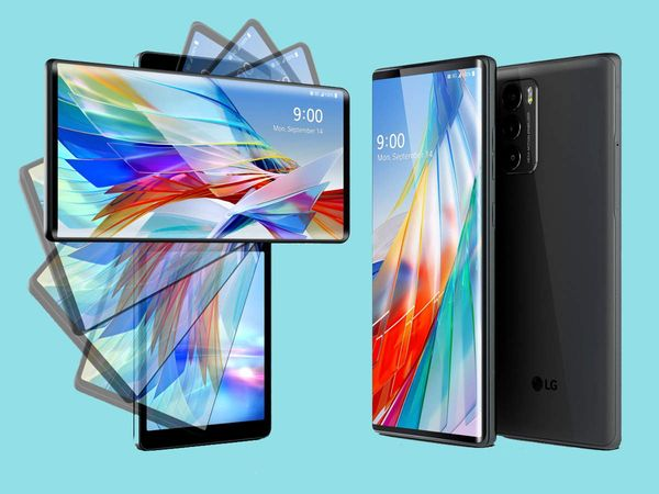 LG Wing with a swivel screen Photo Courtesy: Times Of India