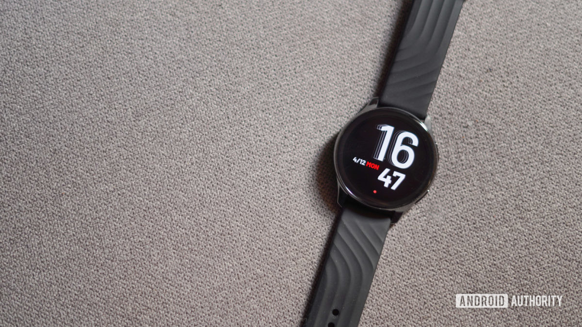 OnePlus Watch top down view