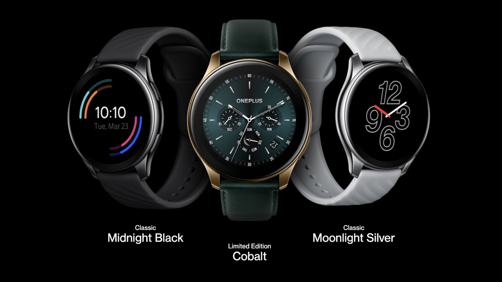 OnePlus Watch colours press image