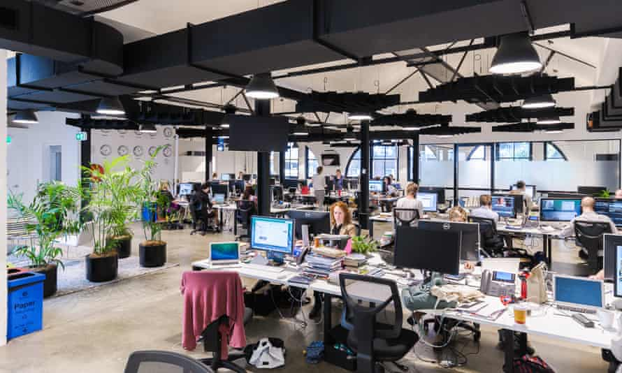 Guardian Australia's Sydney office. The team moved here in January 2015.