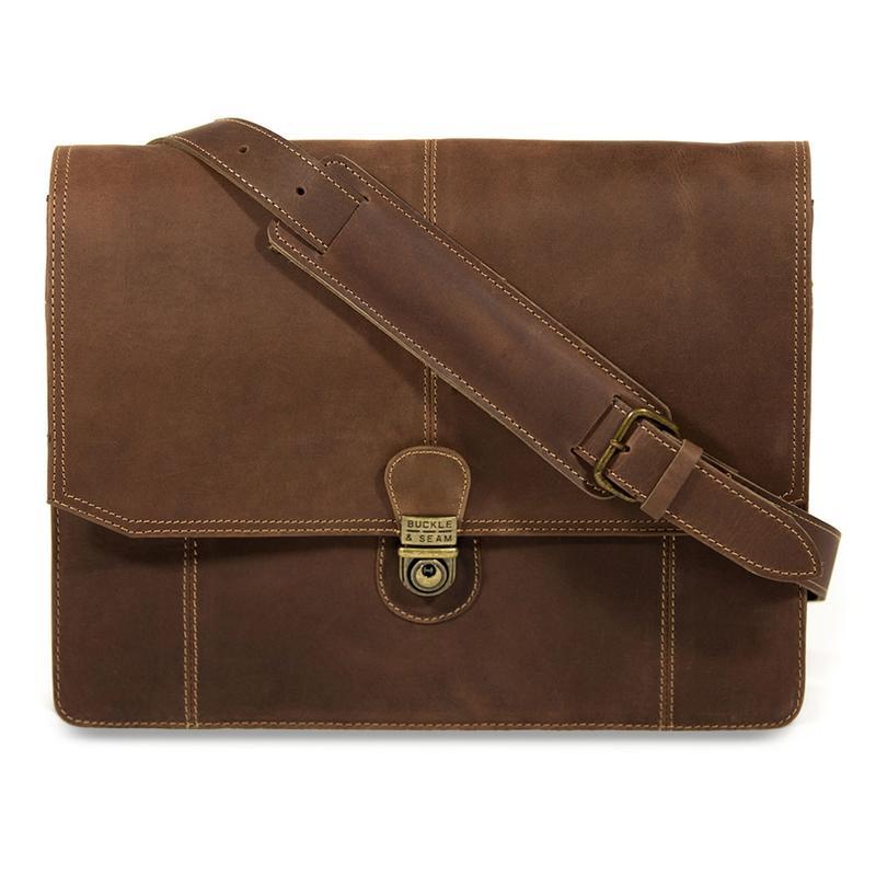 Buckle & Seam Cara satchel