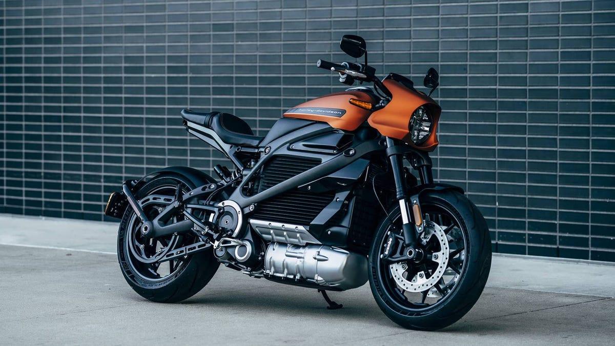 Harley LiveWire bike