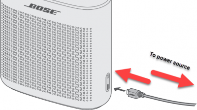 Bose Soundlink Color Battery will not charge