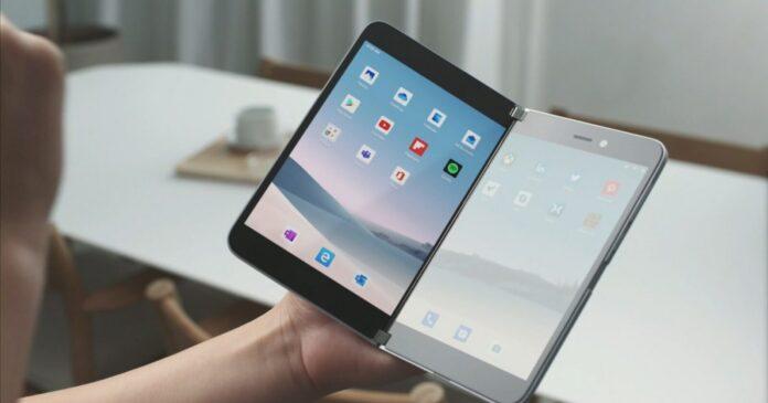 Surface Duo black screen