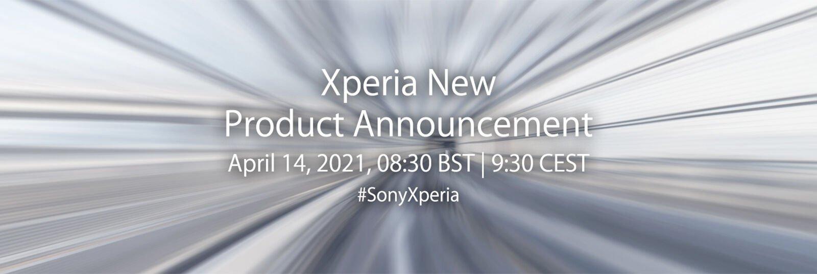 Sony Xperia 14 April event header