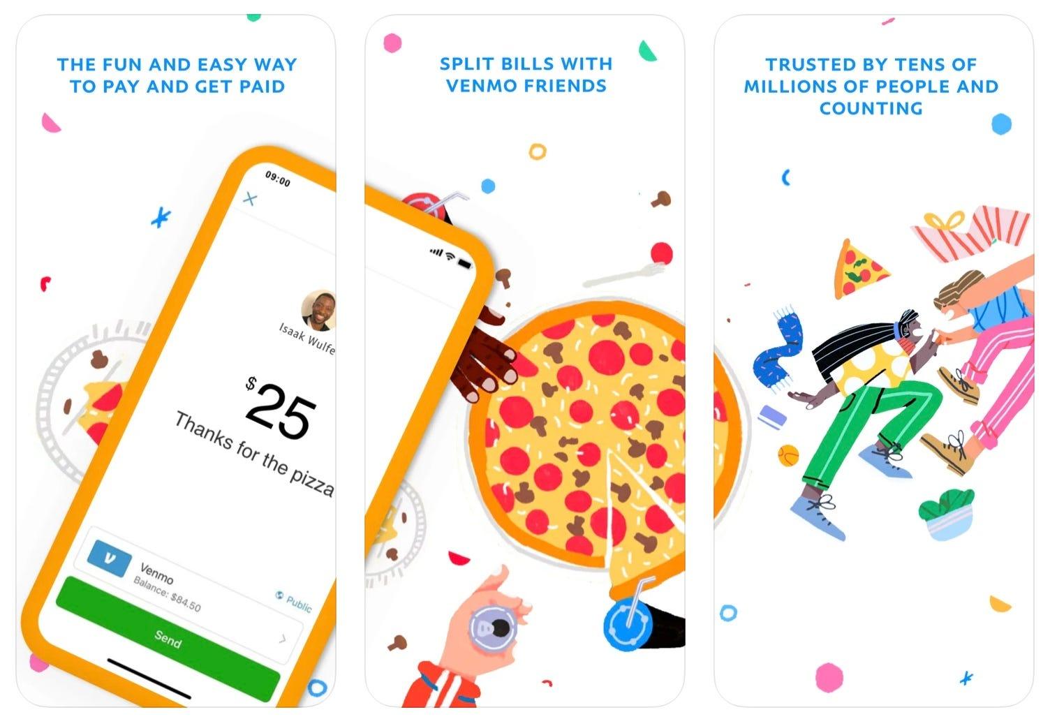 Venmo app store