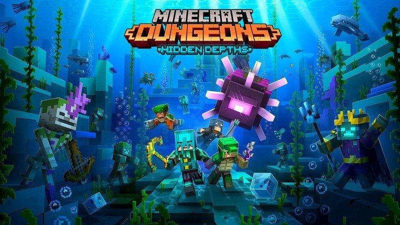 Minecraft Dungeons Dlc Hidden Depths Hero