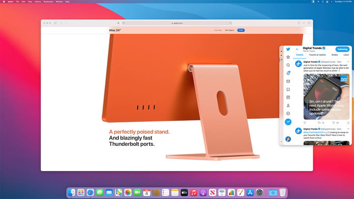 The Slidepad app brings Slide Over to the Mac
