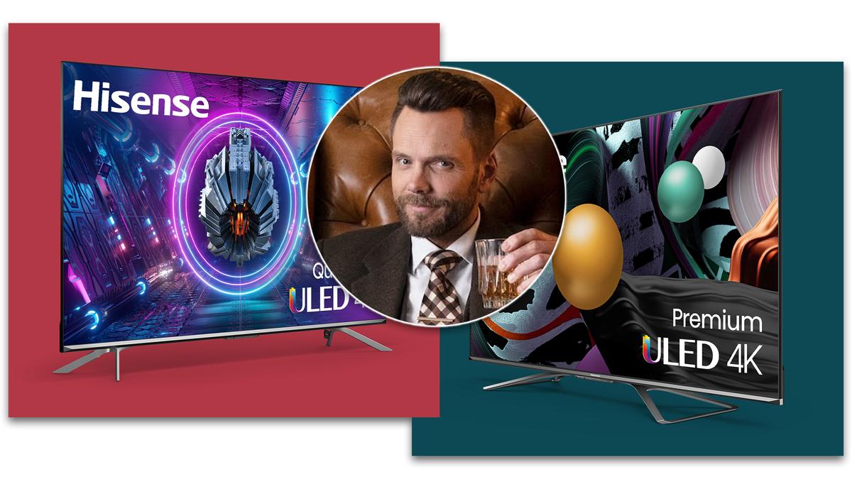 Hisense new ULED TVs with Joel McHale.