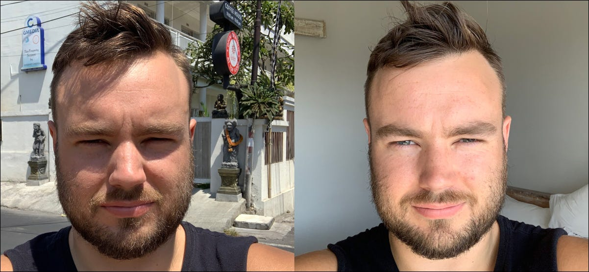 comparison of hard and soft light