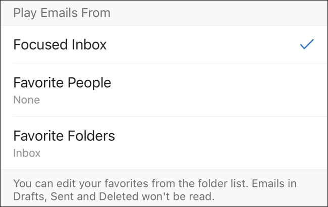 Play Emails From