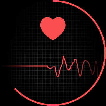 heart rate tracking in progress